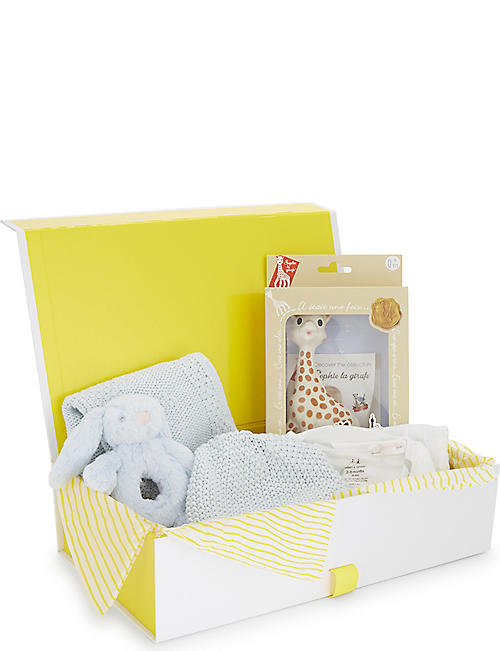 Baby gifts first toys nursery kids selfridges selfridges baby boy small gift hamper negle Gallery