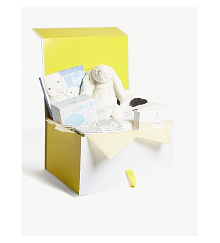SELFRIDGES Bubbles and Cuddles baby hamper 3-6 months (Multi
