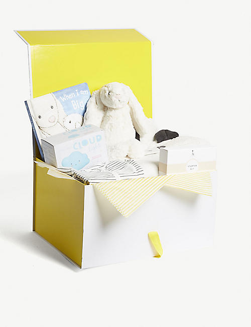 Baby gifts first toys nursery kids selfridges selfridges bubbles and cuddles baby hamper 3 6 months negle Gallery