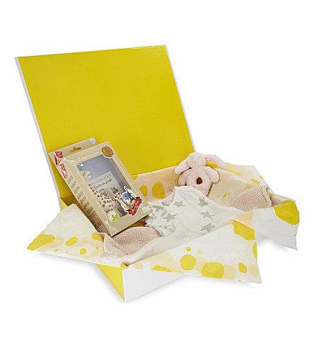 SELFRIDGES Baby girl small hamper (Multi