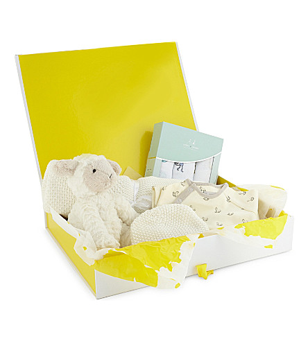 SELFRIDGES Medium baby hamper (Multi