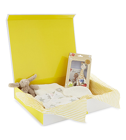 SELFRIDGES Small baby hamper (Multi