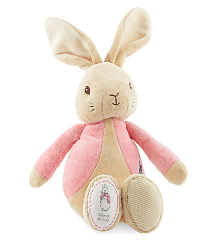 PETER RABBIT My first Flopsy plush toy (Pink