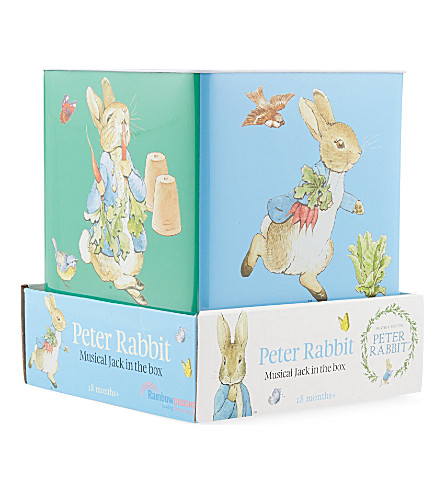 PETER RABBIT Peter Rabbit Jack in the Box (Blue