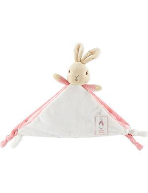 PETER RABBIT Flopsy Bunny comfort blanket