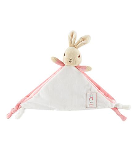 PETER RABBIT Flopsy Bunny comfort blanket (Pink