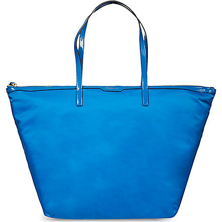 ANYA HINDMARCH Labelled workout tote (Cobalt