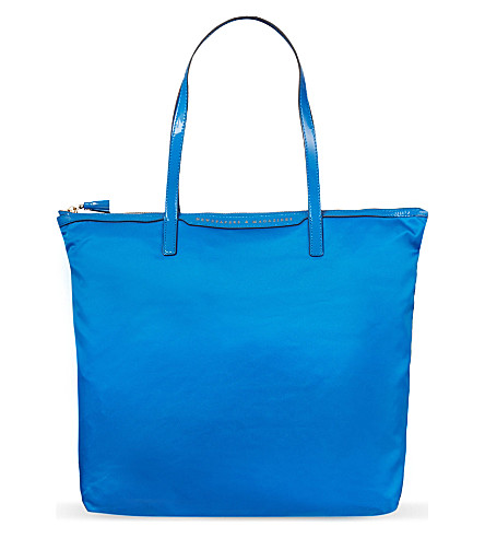 ANYA HINDMARCH Workout tote (Cobalt