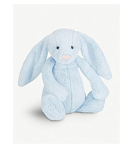 JELLYCAT Bashful plush bunny huge (Blue