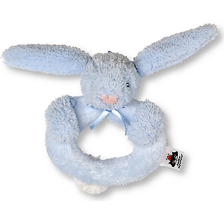 JELLYCAT Bashful ring rattle bunny (Blue
