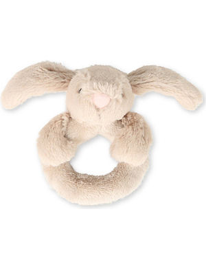 JELLYCAT Bashful Bunny ring rattle