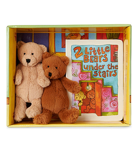 JELLYCAT Two little bears set (Multi