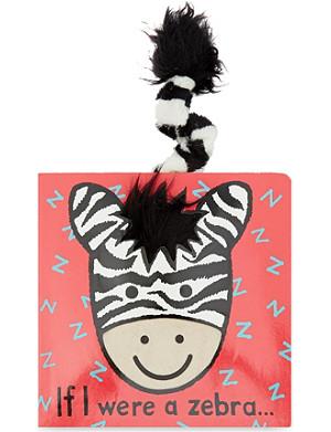 JELLYCAT If I were a Zebra book