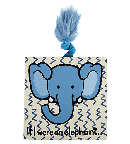 JELLYCAT If I Were An Elephant board book