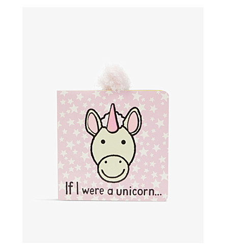 JELLYCAT Unicorn Tails book