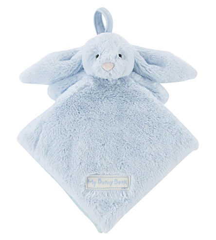 JELLYCAT My Blue Bunny soft book