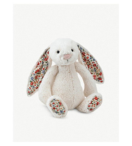 JELLYCAT Blossom bunny soft toy medium (Cream