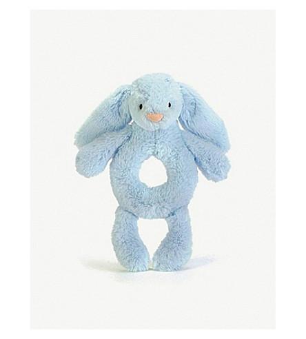JELLYCAT 害羞的兔子拨浪鼓18厘米