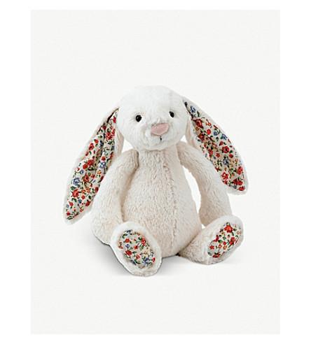 JELLYCAT Jellycat Bashful Blossom bunny soft toy 18cm (Cream