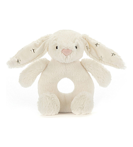 JELLYCAT Bashful Twinkle Bunny Grabber soft toy