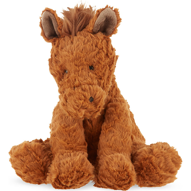 Stuffed Horse Toy : Plush ponies soft toy horses cuddly pony beanie babies