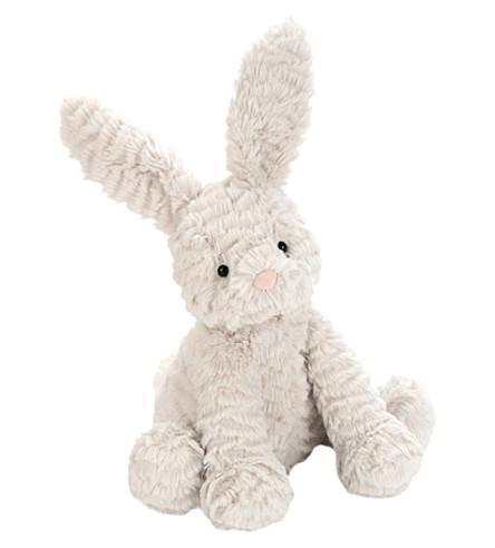 JELLYCAT Fuddlewuddle bunny medium soft toy (Grey