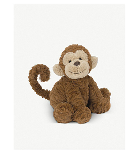 JELLYCAT Fuddlewuddle monkey medium soft toy (Brown