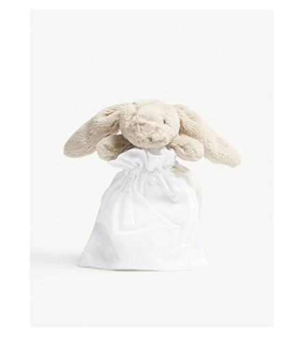JELLYCAT Bashful Bunny muslin comfort blanket