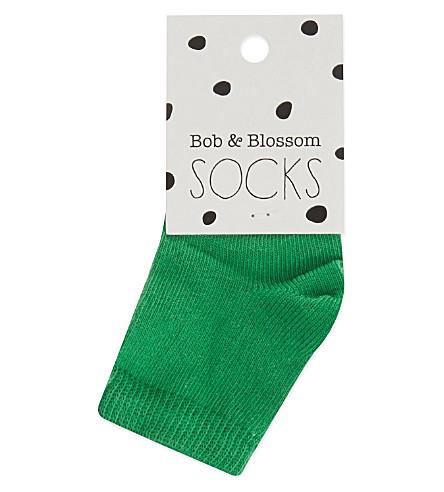 BOB & BLOSSOM Socks (Grass+green