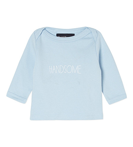 BOB & BLOSSOM Handsome top 0-18 months (Sky+blue