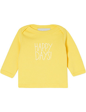BOB & BLOSSOM Happy Days! t-shirt 0-18 months