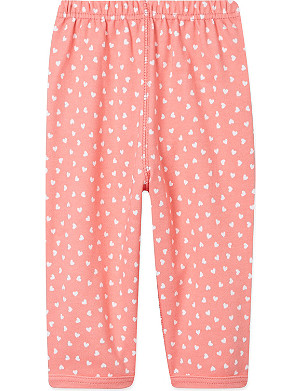 BOB & BLOSSOM Heart-print trousers 0-12 months
