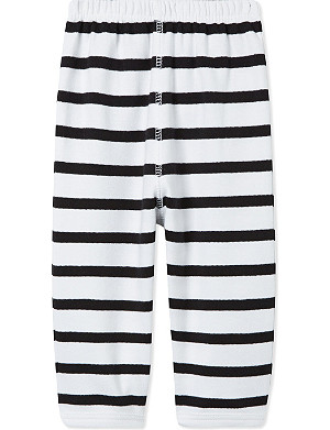 BOB & BLOSSOM Striped cotton trousers 0-12 months