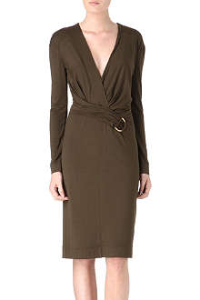 TOM FORD V-neckline jersey dress