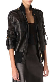 TOM FORD Perforated leather jacket