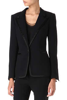 TOM FORD Satin-trimmed blazer
