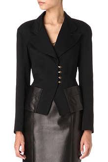TOM FORD Leather-pocket jacket