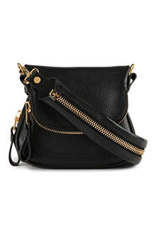TOM FORD Jennifer grained-leather bag