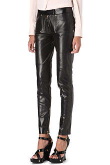 TOM FORD Leather trousers