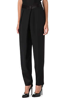 TOM FORD Drape-front trousers