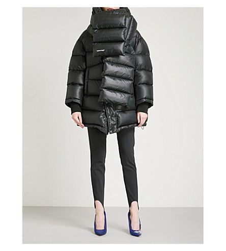 BALENCIAGA Outspace shell puffer jacket (Noir