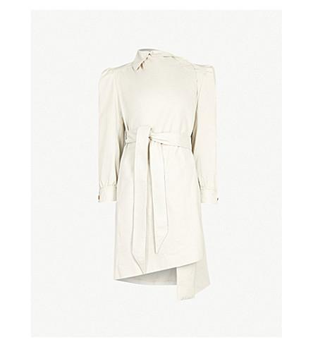BALENCIAGA Feminin Pulled cotton jacket (Calcaire