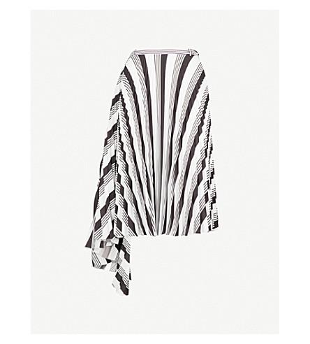 BALENCIAGA Two Sides woven skirt (Noir/blanc