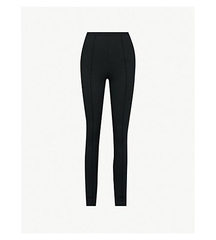 BALENCIAGA Skinny stretch-jersey jogging bottoms (Black
