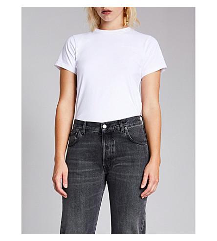 BALENCIAGA Ego-print cotton-jersey T-shirt (White