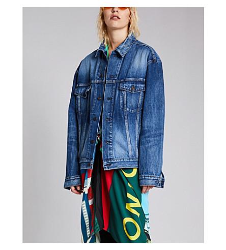 BALENCIAGA Like a Man denim jacket (Medium+vintage+blue