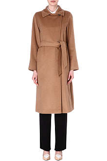 MAX MARA Camelhair wrap coat