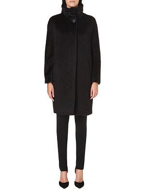 MAX MARA STUDIO Abazia alpaca and wool-blend coat