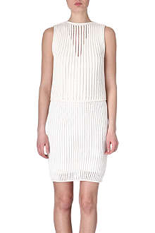 SPORTMAX Knitted cotton-blend dress