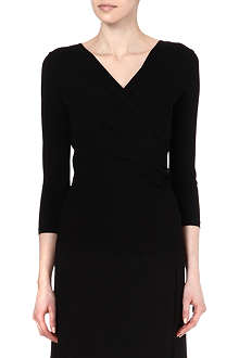 MAX MARA Accordo wrap-front top